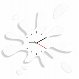 "Wall Clock ""Ink blot"""