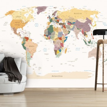 Photos World Map.Fototapetas World Map Deco Detalės