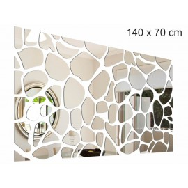 "Decorative mirror ""Stones"""