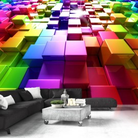 Fototapetas - Colored Cubes