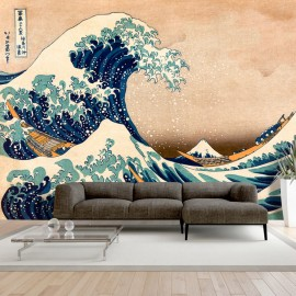 Fototapetas - Hokusai: The Great Wave off Kanagawa (Reproduction)