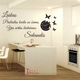 "Wall stickers "" Time spent together"""